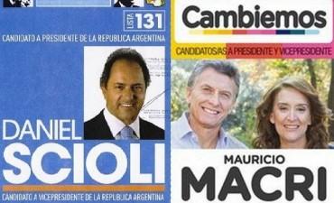 Las boletas del 25 de octubre serán válidas para el ballotage