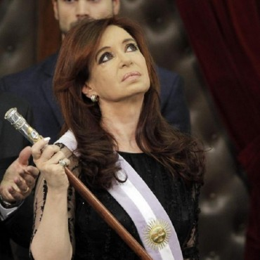 Cristina Kirchner se despide del poder,Hoy votamos los Argentinos