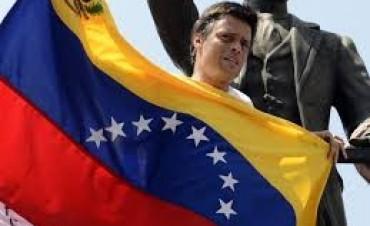 Leopoldo López agradeció a Mauricio Macri su apoyo ante los abusos del régimen chavista