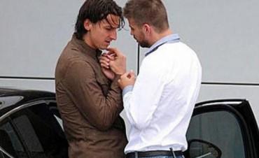 Piqué habló de la polémica foto con Ibrahimovic