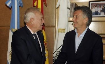 Tras reunirse con Macri, el canciller español resaltó: