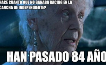 Tras el clásico, llegaron los memes del triunfo de Racing