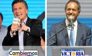 Escrutinio definitivo: Macri  51,34% - Scioli 48,66%