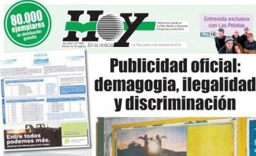 Publicidad oficial: ilegalidad al extremo y falta de ética