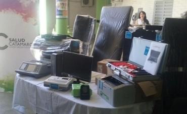 Salud entregó de equipamientos a través del Programa SUMAR