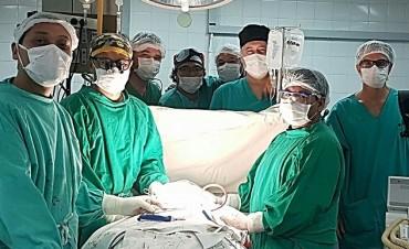 Exitosa cirugía de Alta complejidad