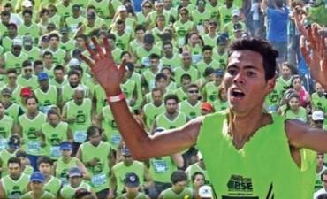 Marcelo Fabricius Ganó la Maratón Aniversario de El Liberal