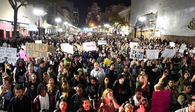 Caos y protestas contra el