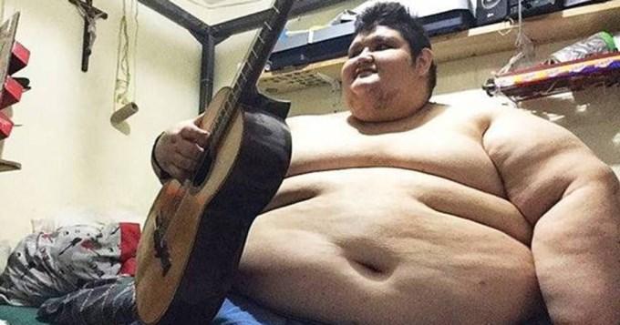 El hombre más gordo del mundo, a dieta