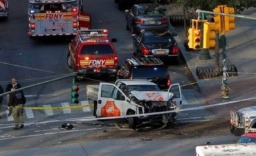 Estados Unidos: al menos 8 muertos en atropello múltiple en Manhattan calificado de