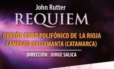 """""""Réquiem"""" de John Rutter en el cine teatro Catamarca"""