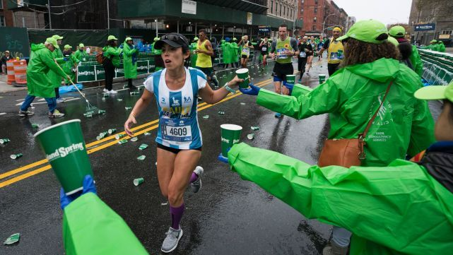 Doscientos argentinos corrieron la maratón por las víctimas de Manhattan