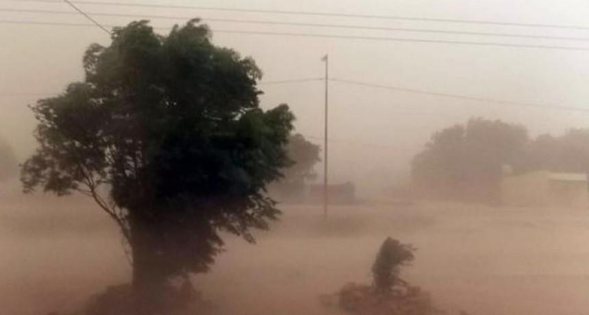 Emitieron un alerta meteorológico por vientos intensos para Catamarca