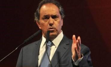 """Scioli volvió a ser el de la campaña: """"Hoy están comprobando lo que advertí"""""""