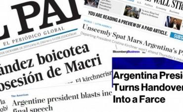 Asume Mauricio Macri: así lo narra la prensa en Estados Unidos y Europa