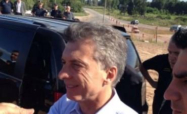 Macri inició su intensa agenda con una visita a Areco y prometió obras en la Provincia