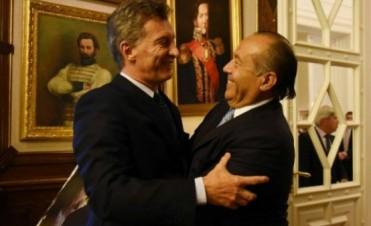Rodríguez Saá se reunió con Macri: