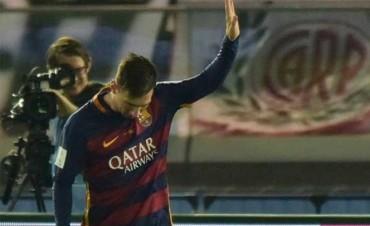 La foto de Messi que se viralizó en las redes: ¿le pidió perdón a la hinchada de River?