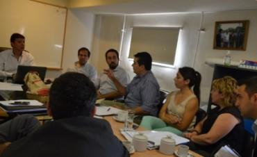 Dalla Lasta reunió a sus colaboradores y definió líneas de trabajo