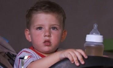 ABERRANTE: ladrones golpearon a un nene de 2 años