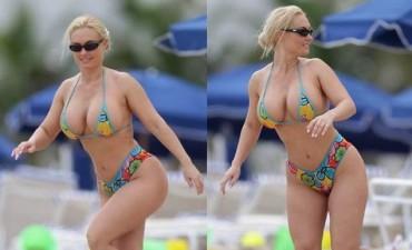 Escándalo en Croacia: la presidenta Kolinda Grabar-Kitarovi en bikini