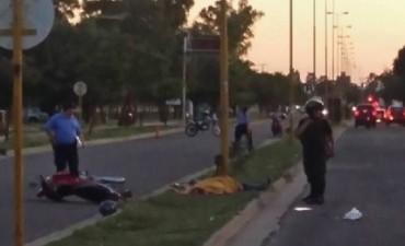 Accidente fatal en avenida Los Legisladores