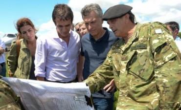Inundaciones: Macri anunció inversiones para dar una