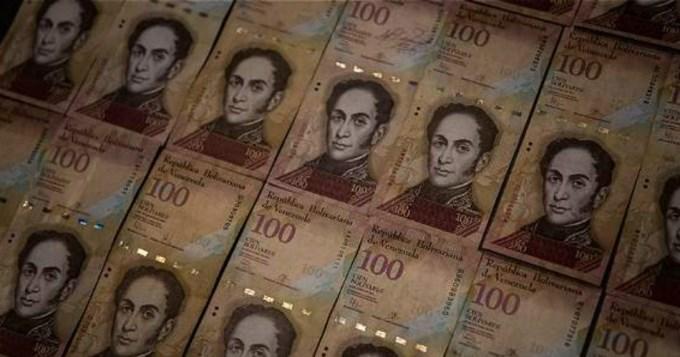 En Venezuela, el billete de 100 bolívares no sale más