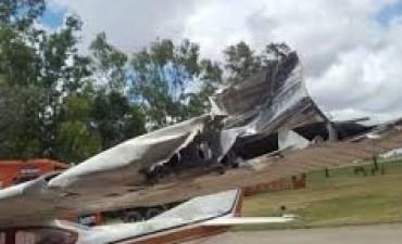 Marcos Di Palma se accidentó con su avión y dejó dos ciudades sin luz