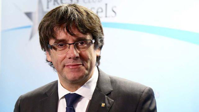 La justicia española retiró la orden de captura contra Puigdemont
