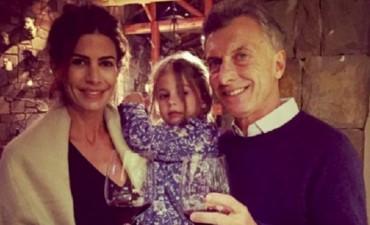 La foto de Macri junto a su familia en Año Nuevo