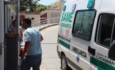 Un hombre se prendió fuego,en Banda de Varela