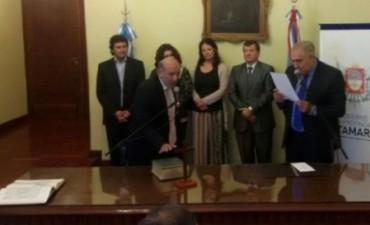 Gutiérrez tomó juramento a nuevos funcionarios de educación