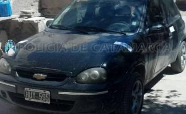 Secuestraron un automóvil y droga en Santa María