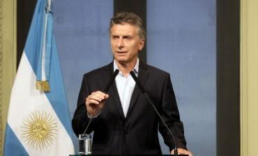 Macri anunció obras viales en la Ruta 5: