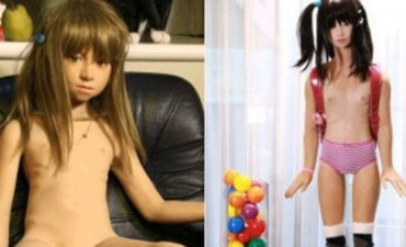Escándalo por venta de muñecas para pedófilos