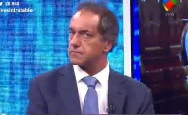 Daniel Scioli reapareció defendio la gestión kirchnerista y critico a Macri