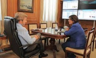 Tras cumbre en San Juan: Corpacci será recibida por el ministro Frigerio