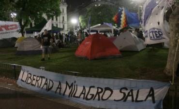 La Justicia ordenó el desalojo del acampe por Milagro Sala