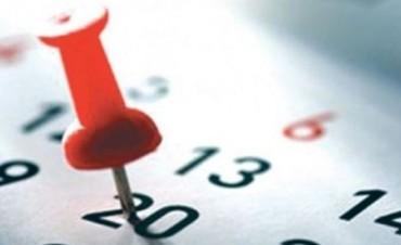 ¿Cuántos feriados habrá en 2017?