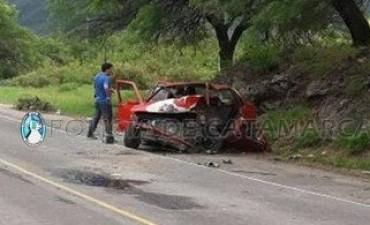 Falleció un hombre que protagonizó un siniestro vial en Fray Mamerto Esquiú