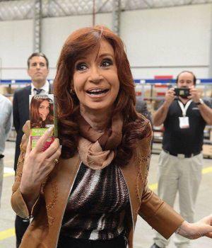 Cristina, contra Macri: