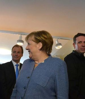 Macri se reunió con Merkel y Bill Gates en Davos