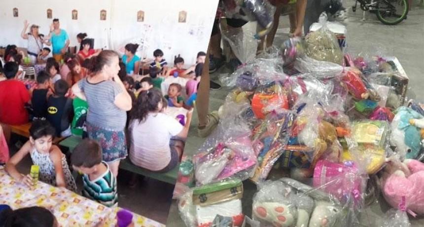Delincuentes Asaltaron un comedor y se llevaron hasta los regalos de Reyes