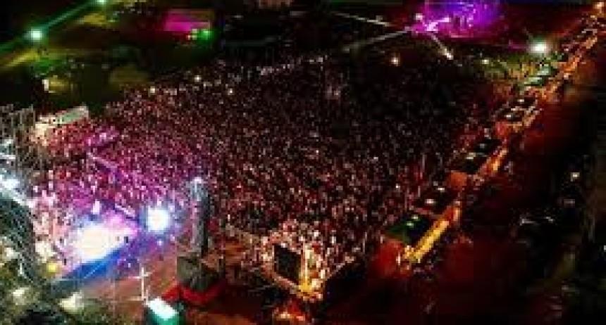 Tendal de intoxicados en la Fiesta de La Playa