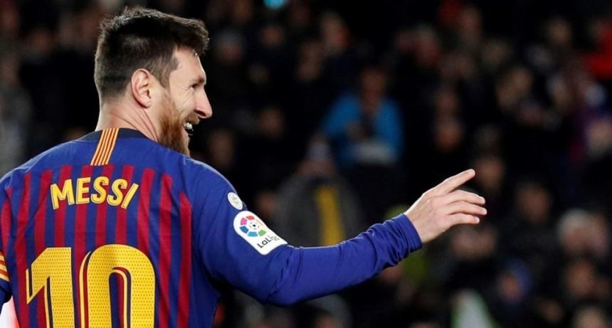 Messi llegó a los 400 goles por Liga española