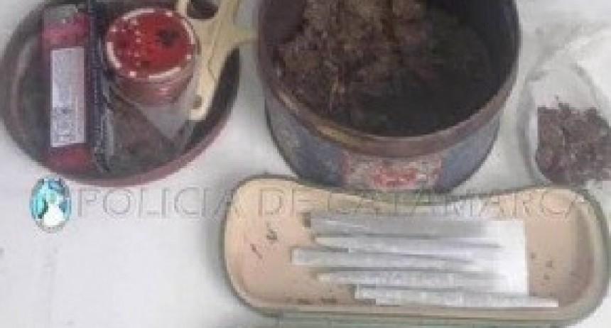 Secuestran droga en un puesto caminero de La Puerta