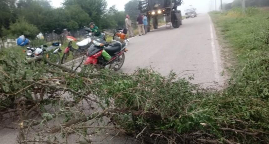 Vecinos cortan Ruta provincial 27 en protesta por la falta de agua potable