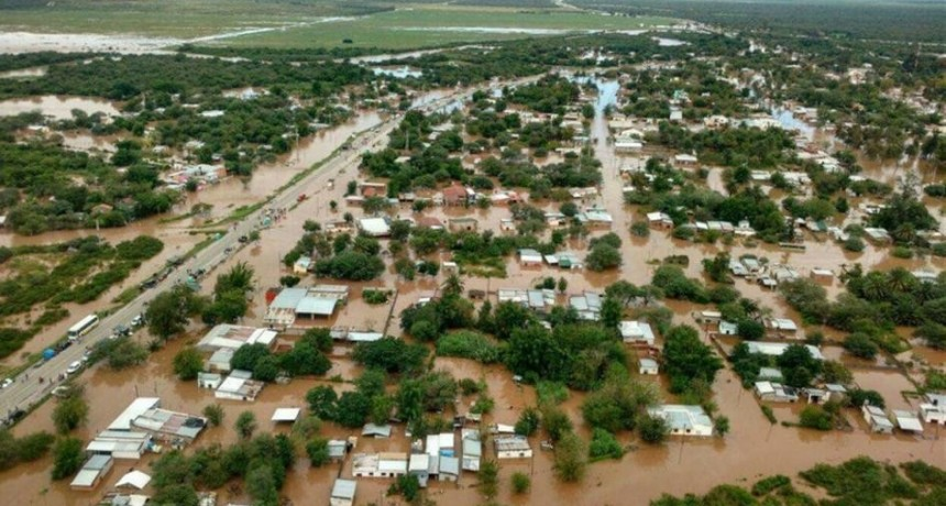 El meteorólogo Minetti le advirtió al Gobierno que poco se puede hacer para evitar inundaciones
