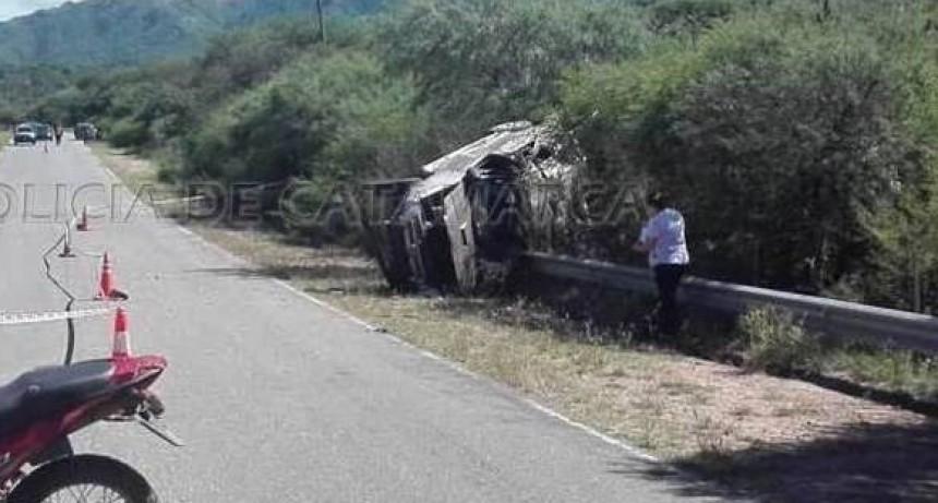 Huaycama Ambato: Siniestro vial fatal